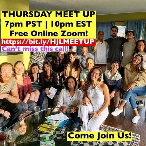 💥TODAY ONLINE MEET UP THURSDAY💥 😃 We are a group of people that share our vision to change the world. We believe it starts with cleaning up our food system. It includes expanding financial opportunity through the free enterprise system. 😃 We are doing a FREE online Zoom to come together and share our mission. 🎉 Join us!  Thursday May 25th 7pm PST | 10pm EST https://bit.ly/HJLMEETUP